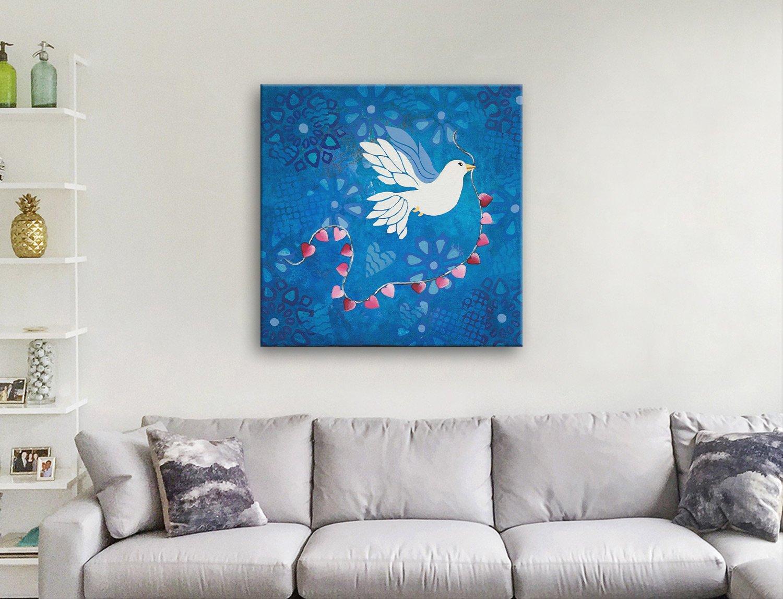 Lisa Frances Judd Mixed Media Canvas Art AU