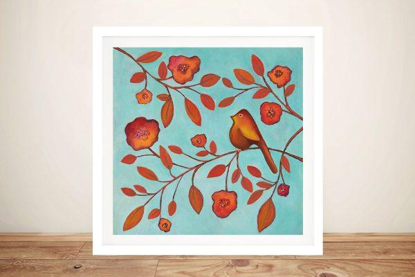 Buy a Framed Print of Bird on a Branch