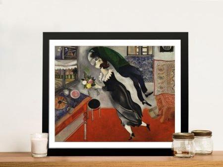 Birthday Framed Modern Art Canvas Print
