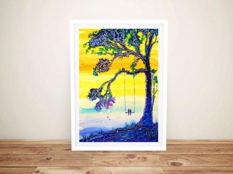 Bliss Framed Abstract Art for Sale Online