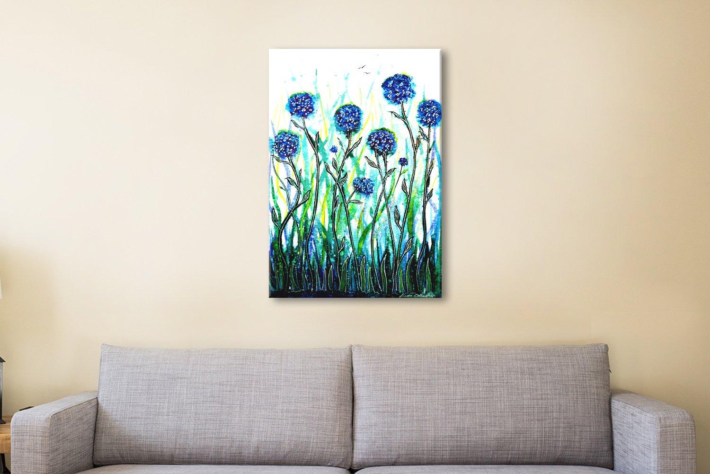 Abstract Floral Art Unique Home Decor AU