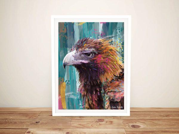 Bruce Eagle Framed Aussie Bird Art for Sale