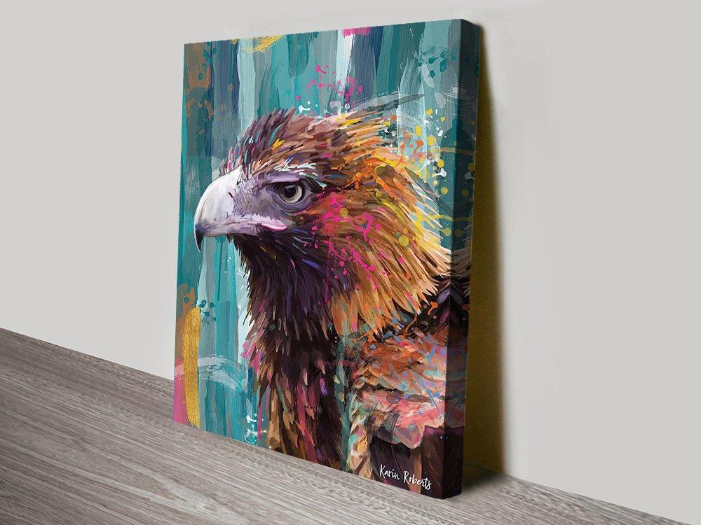 Bruce Eagle Karin Roberts Canvas Art