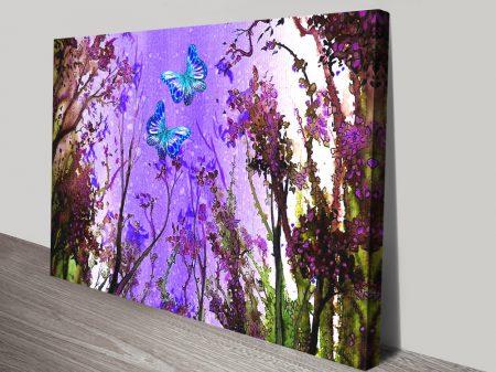 Butterfly Dreams Linda Callaghan Wall Art