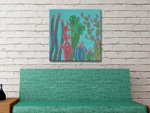 Cactus Party No.4 Art Unique Gift Ideas AU