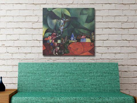 Calvary Ready to Hang Marc Chagall Wall Art