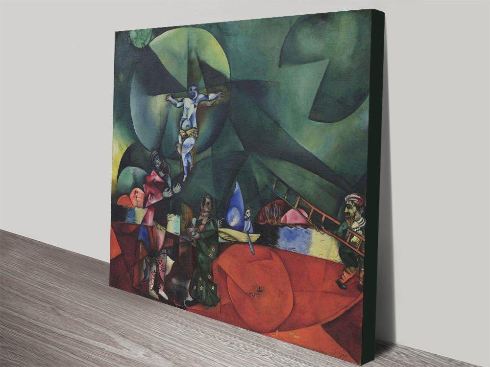 Calvary Marc Chagall Classic Art Print