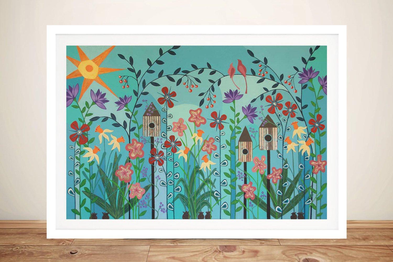Can't Wait Till Spring Summery Wall Art