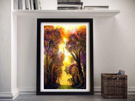 Buy Colour of Trees Framed Landscape Art