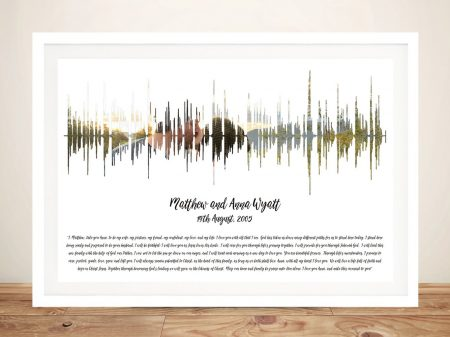 Personalised Soundwave Art with Photo
