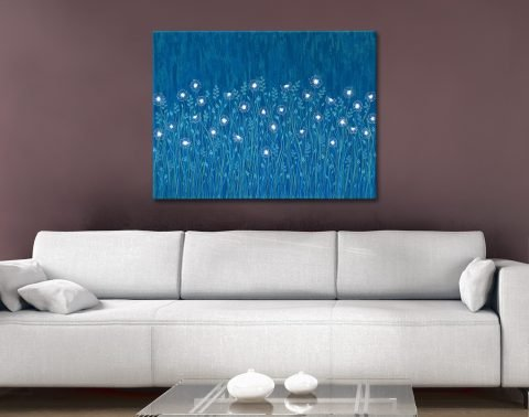 Buy Bright Abstract Floral Wall Art Online