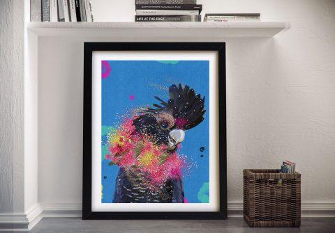 Drag Cockatoo Wall Art by Karin Roberts