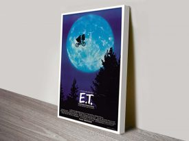 Original E.T Vintage Movie Poster Print