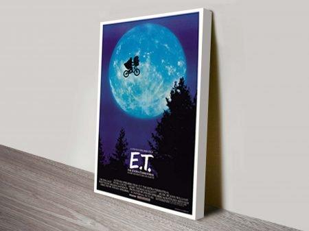 Original E.T Vintage Movie Poster Print