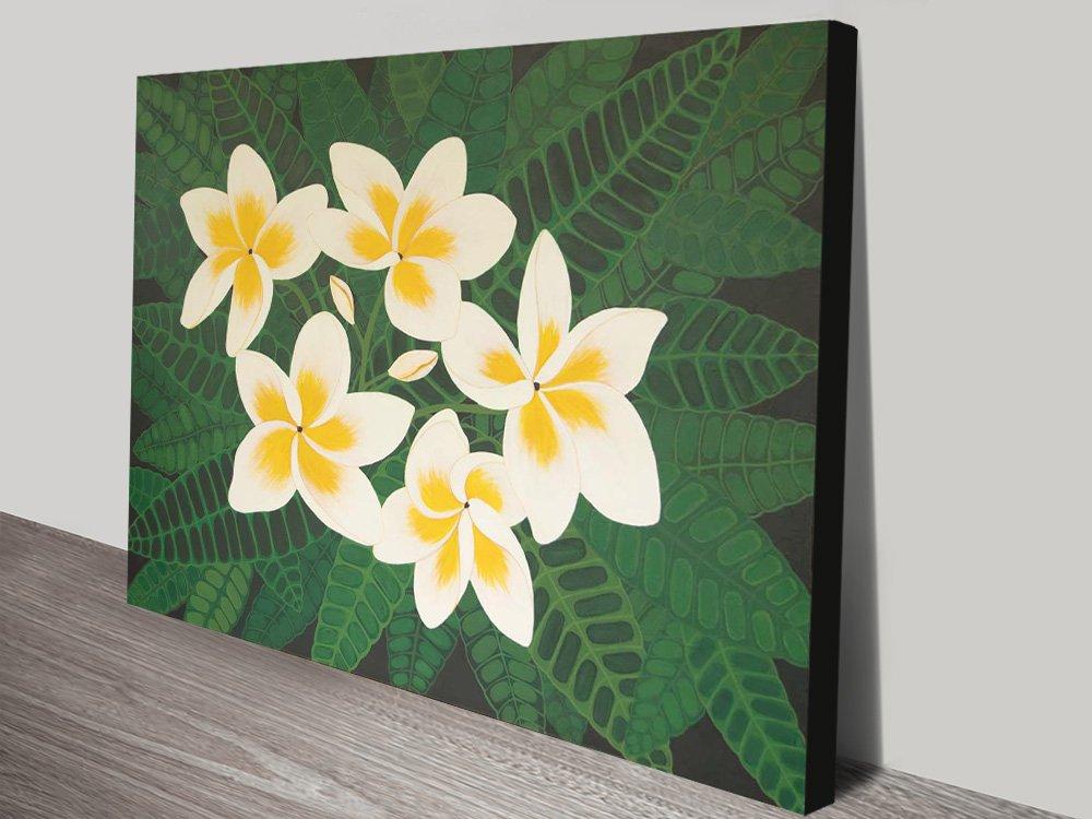 Frangipani Dreams Affordable Floral Art