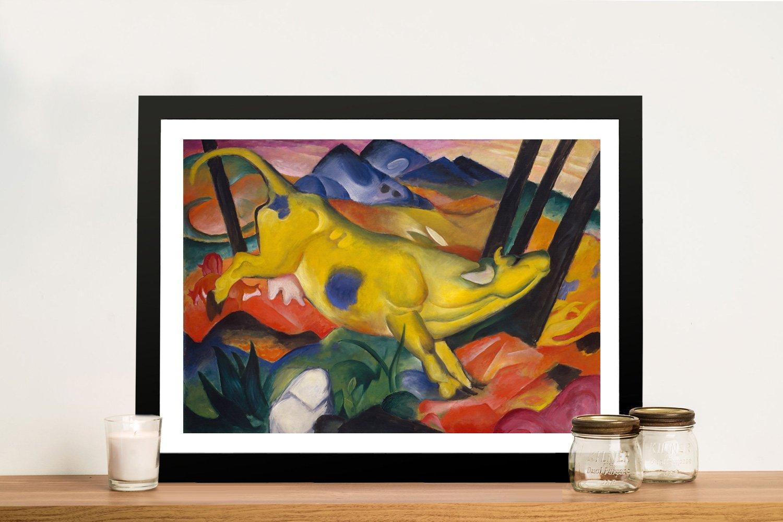 Framed Franz Marc Abstract Art for Sale
