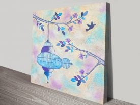 Buy Freedom Pretty Canvas Abstract Art