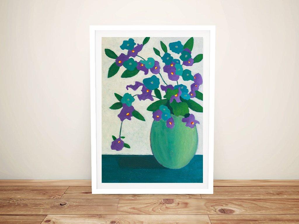 Fresh Flowers in the Morning Framed Art