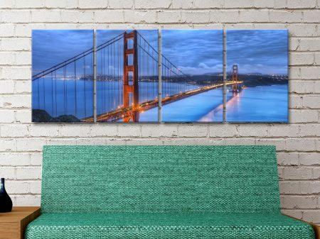 Buy a Golden Gate Bridge 4-Piece Art Set