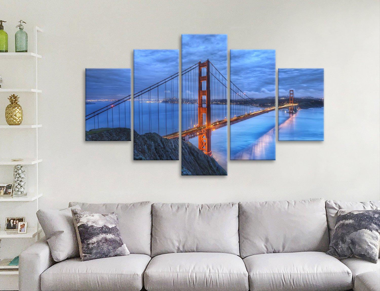 Golden Gate 5-Piece Art Set Gift Ideas AU