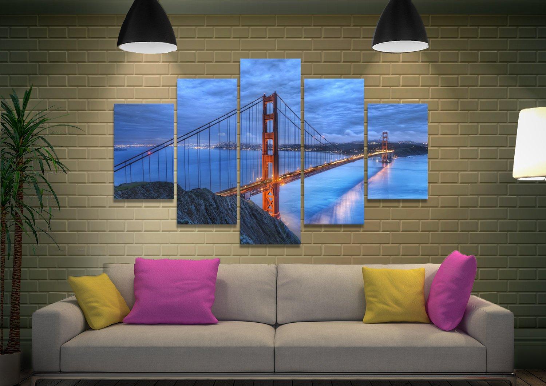 Golden Gate Landscape Multi-Panel Art Set