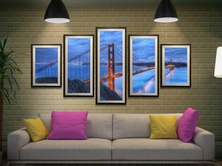 Golden Gate Bridge Split Diamond Art Set