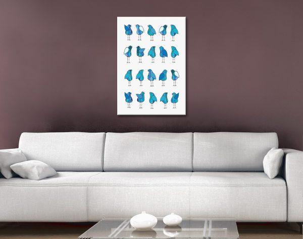 Gossip Birds Blue Home Decor Ideas Online