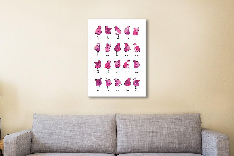 Gossip Birds Pink Art Great Gift Ideas AU