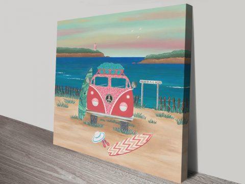Colourful Canvas Surf Prints for Sale Online