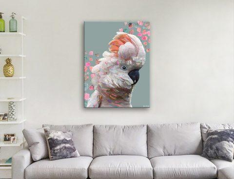 Karin Roberts Playful Aussie Bird Art Online