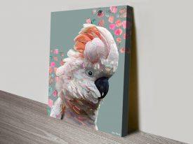 Ivy Karin Roberts Aussie Birds Print on Canvas