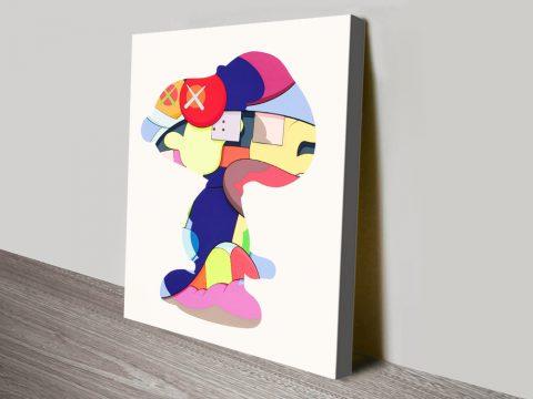 KAWS No One's Home Colourful Street Art
