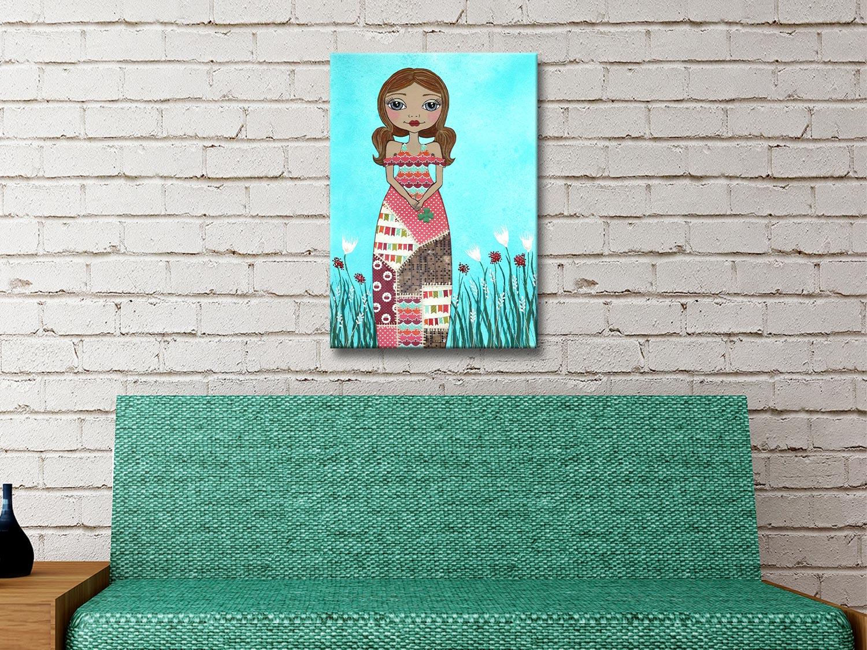 Luck Canvas Print Kids Room Home Decor