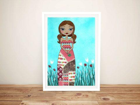 Luck Framed Lisa Frances Judd Canvas Art