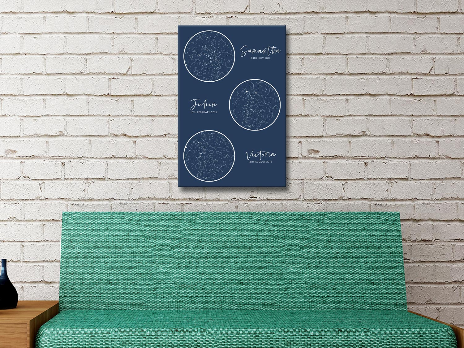 Multiple Star Map Great Christening Gift Ideas