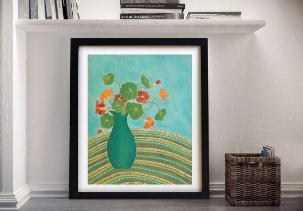 Nannas Nasturtiums Affordable Abstract Art