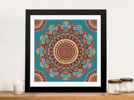 Mandala Dream Framed James Wiens Art