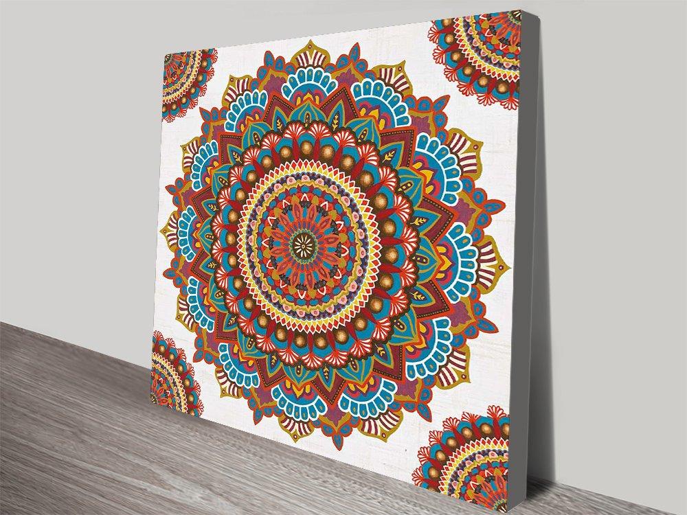 Buy a James Wiens Mandala Canvas Print