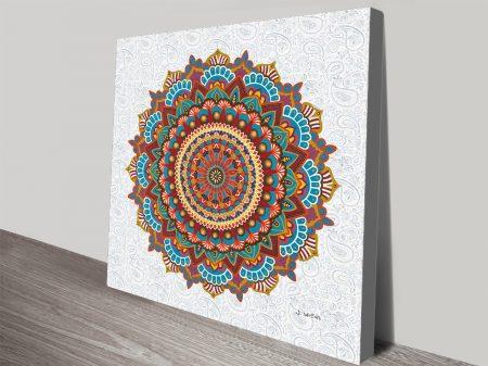 Mandala Dreams James Wiens Wall Art