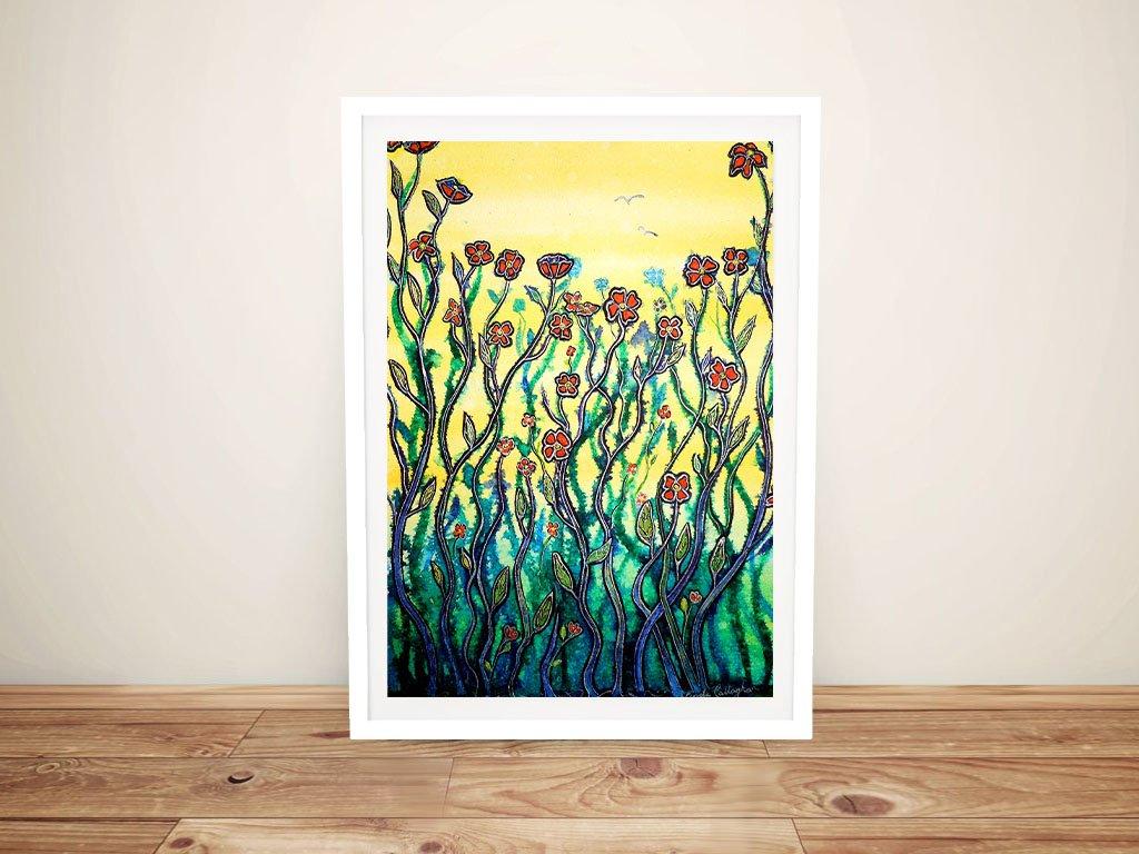 Spring Garden Linda Callaghan Canvas Print