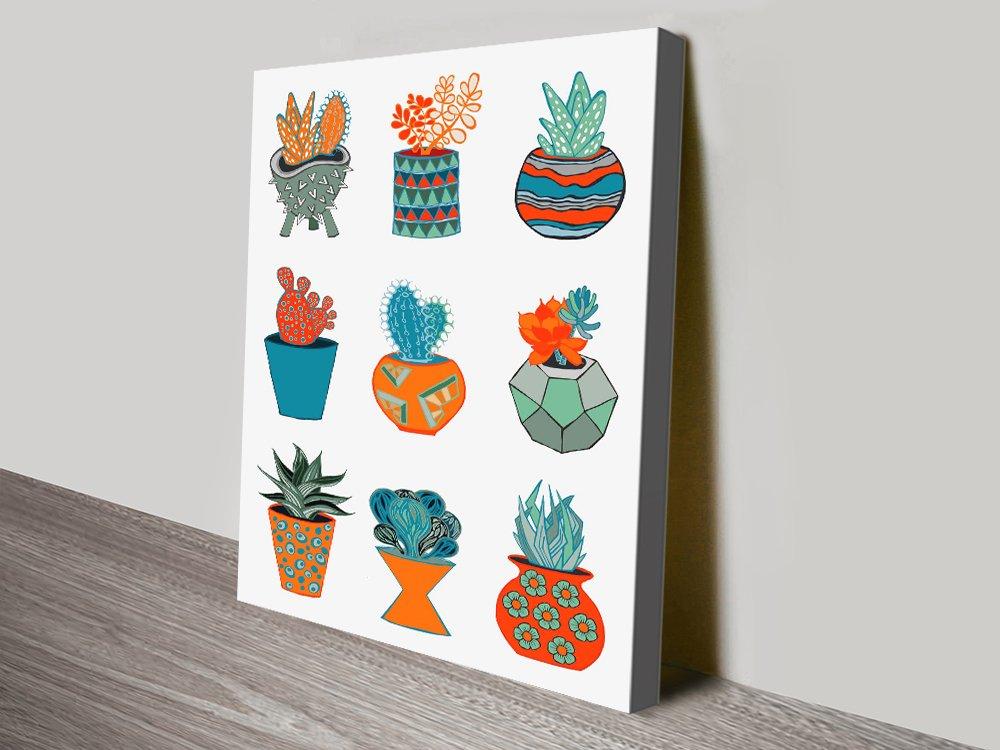Succulent Mad Colourful Home Decor Ideas