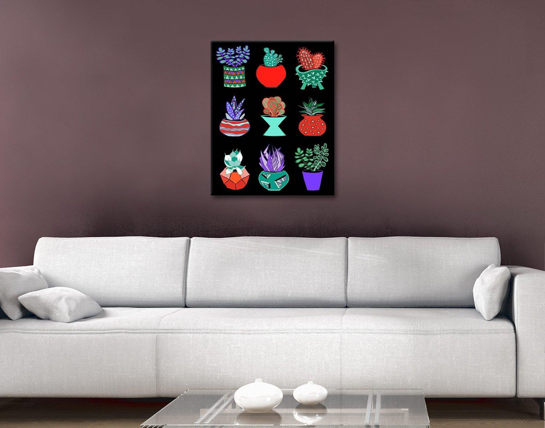Succulent Mad Art by Lisa Frances Judd