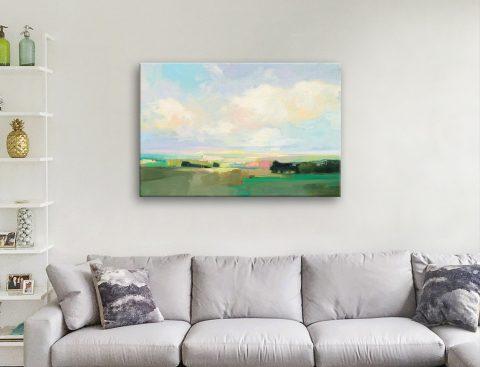 Ready to Hang Landscape Canvas Art AU