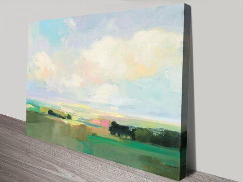 Summer Sky l Landscape Print on Canvas