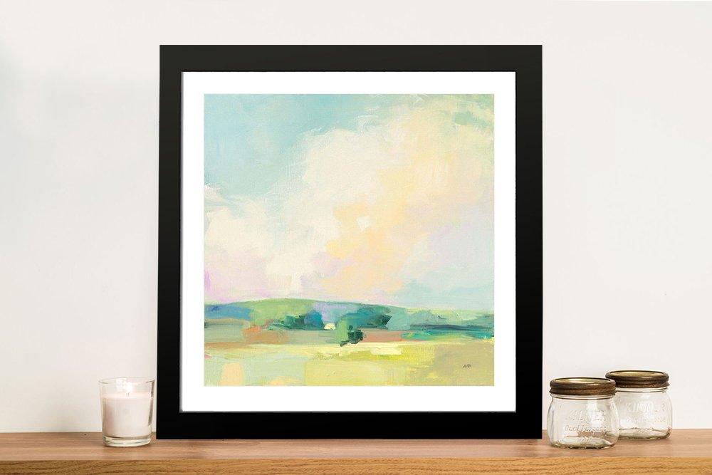 Framed Summer Sky ll Canvas Art for Sale AU