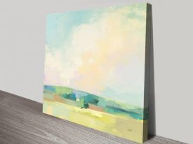 Summer Sky ll Pretty Landscape Wall Art