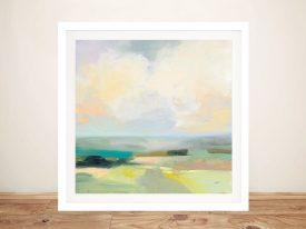 Buy a Framed Print of Summer Sky lll