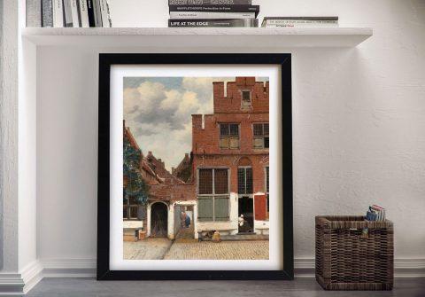 The Little Street Johannes Vermeer Art