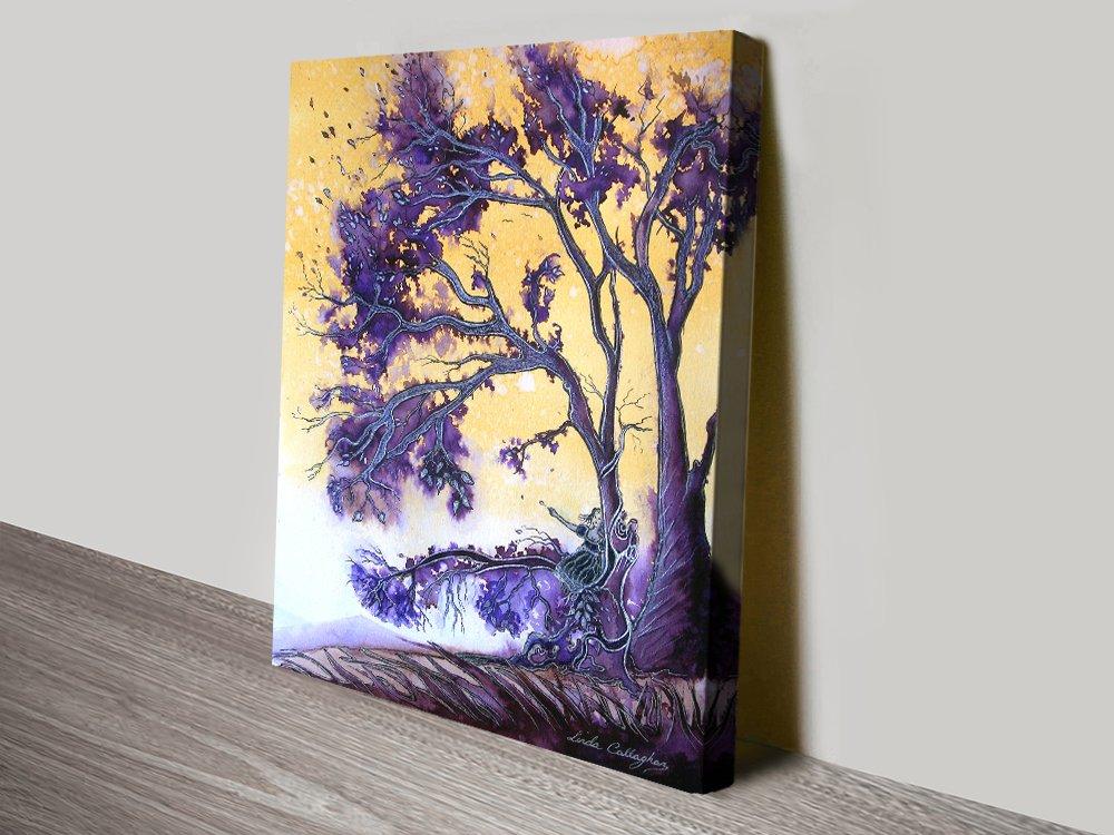 The Wishing Tree Fantasy Landscape Art