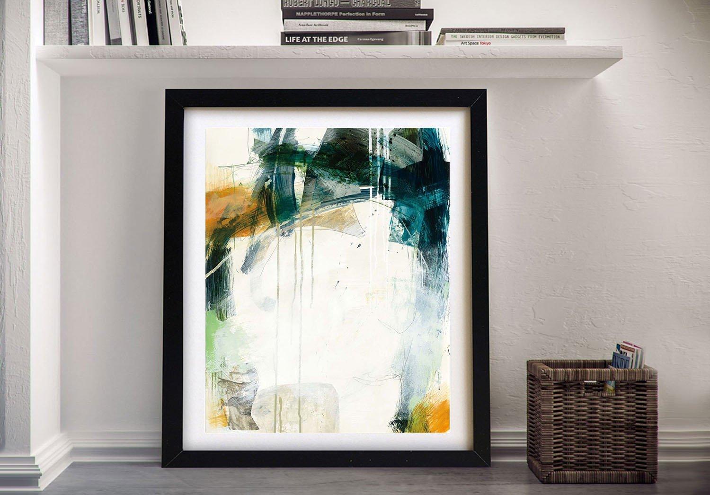 Turbulence l Framed Jane Davies Abstract Art